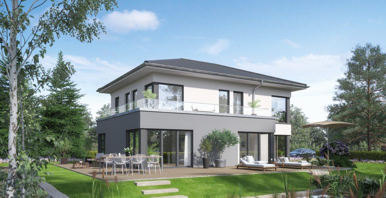 Fertighaus SchwabenhausEinfamilienhaus Selection-E-169 E5