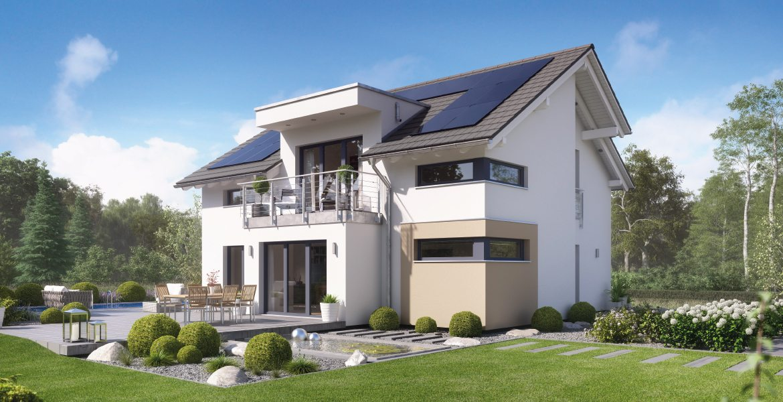 Fertighaus SchwabenhausEinfamilienhaus Selection-E-175 E1