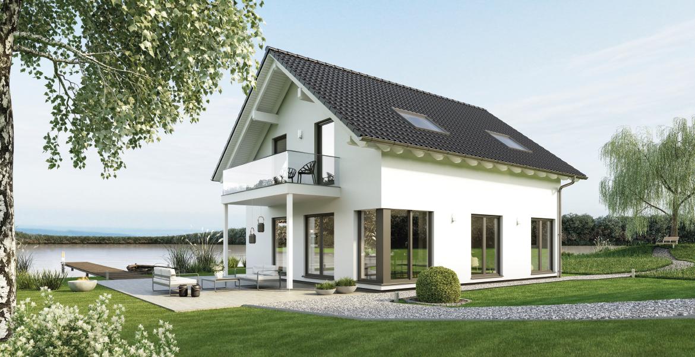 Fertighaus SchwabenhausEinfamilienhaus Sensation-E-132 E1