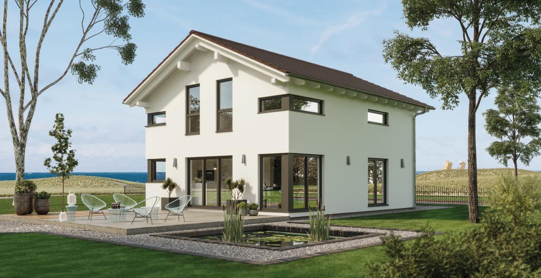 Fertighaus SchwabenhausEinfamilienhaus Sensation-E-132 E4