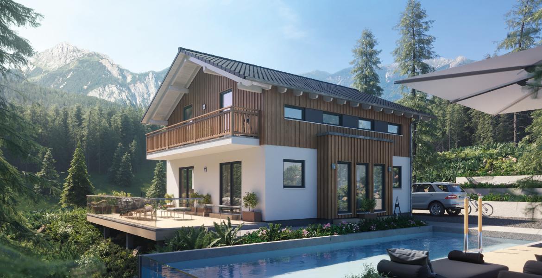 Fertighaus SchwabenhausEinfamilienhaus Sensation-E-133 E4