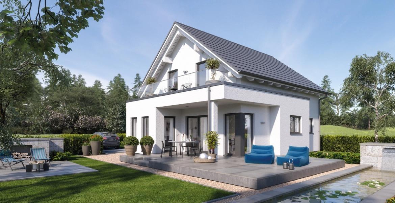 Fertighaus SchwabenhausEinfamilienhaus Solitaire-E-115 E1