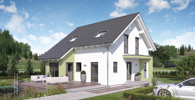 Fertighaus SchwabenhausEinfamilienhaus Solitaire-E-115 E2