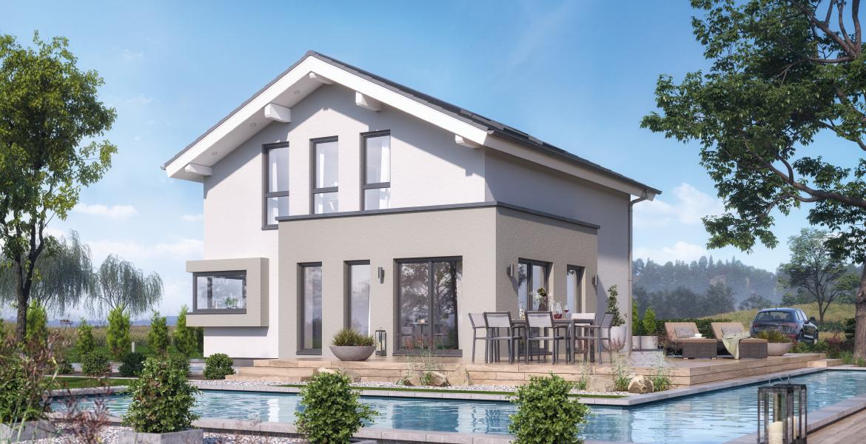Fertighaus SchwabenhausEinfamilienhaus Solitaire-E-115 E6