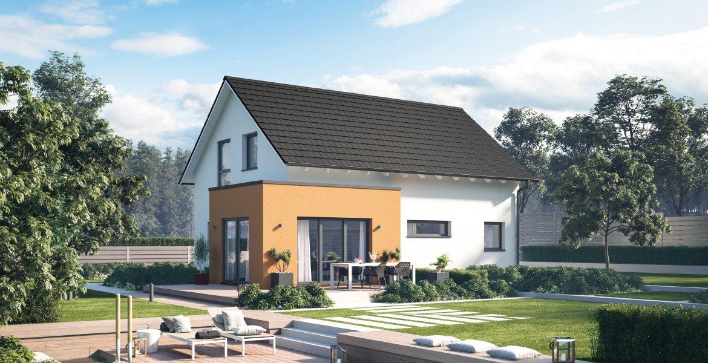 Fertighaus SchwabenhausEinfamilienhaus Solitaire-E-125 E1