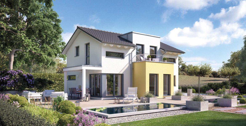 Fertighaus SchwabenhausEinfamilienhaus Solitaire-E-125 E5