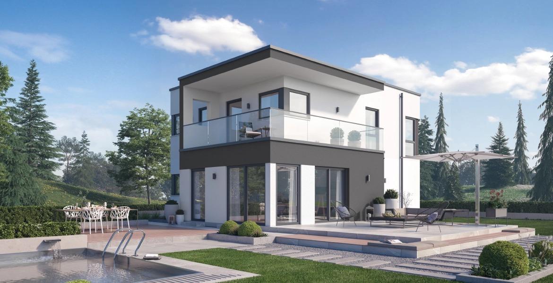 Fertighaus SchwabenhausEinfamilienhaus Solitaire-E-135 E10
