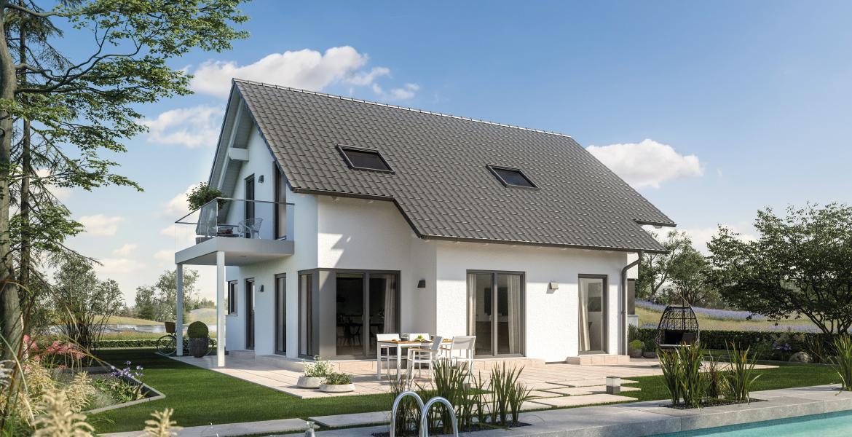 Fertighaus SchwabenhausEinfamilienhaus Solitaire-E-135 E2