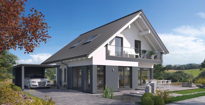 Fertighaus SchwabenhausEinfamilienhaus Solitaire-E-135 E3