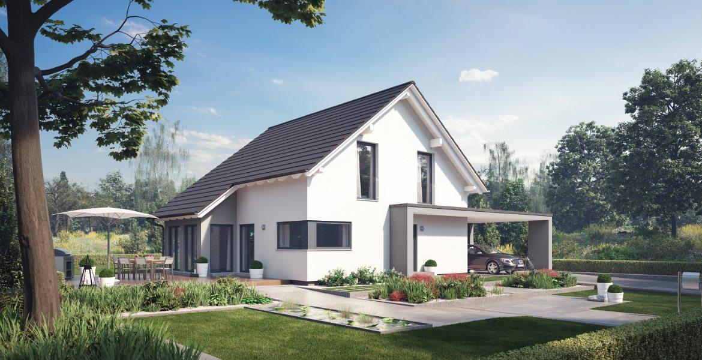 Fertighaus SchwabenhausEinfamilienhaus Solitaire-E-145 E1