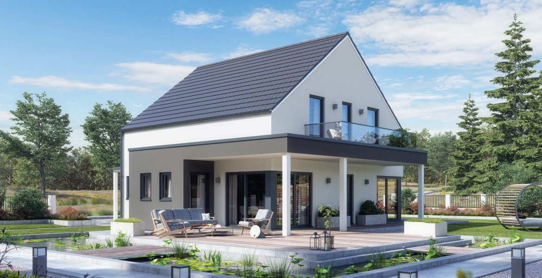 Fertighaus SchwabenhausEinfamilienhaus Solitaire-E-145 E3