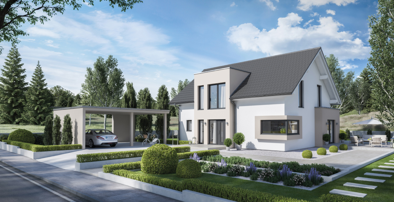 Fertighaus SchwabenhausEinfamilienhaus Solitaire-E-165 E1