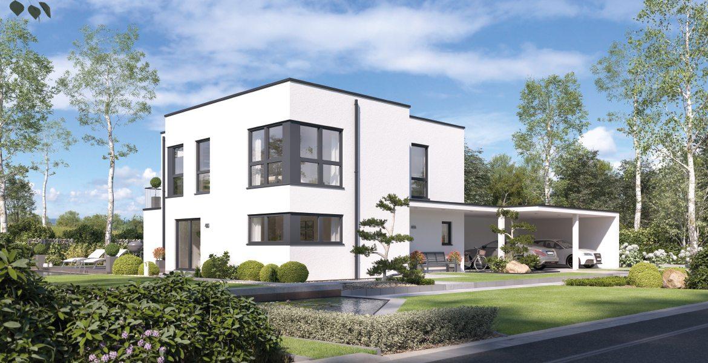 Fertighaus SchwabenhausEinfamilienhaus Solitaire-E-165 E9