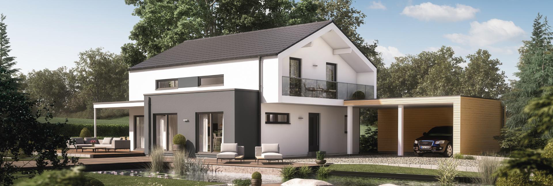 Stadtvilla Fertighaus bauen Kosten & Preise » Moderne ...